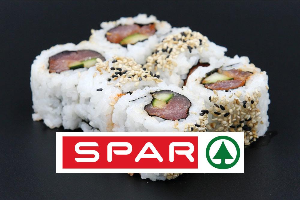 Ginger sushi u SPAR-u!