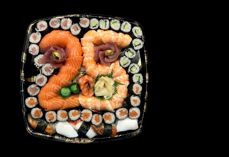 Ginger sushi - rođendanski set